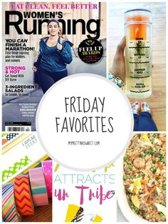 Here are my FRIDAY FAVORITES! - MyPrettyBrownFit.com - Living Beyond The Scale Fitness & Accountability Group | Body Positivity | Women's Running Magazine | Infusion Water Bottle with Drink Tracker | Washi over everything! | Erin Condren Life Planner | Riced Cauliflower