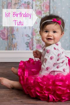This cute and puffy ribbon tutu skirt, would look so cute at a flamingo or unicorn birthday party. A Fuchsia tutu dress would also nicely match a tropical first birthday. Hot Pink tutu skirt for little girls birthday photoshoot ideas. Just pair this tutu with a plain or birthday shirt for the perfect birthday outfit ideas for toddler girl. Click on this pin to shop for this tutu, each tutu is customizable and comes in size newborn to size 12. VanahLynn.com Unique Birthday Party Ideas, Pink And Gold Birthday Party, 1st Birthday Party For Girls, Kids Party Themes, Little Girl Birthday, Birthday Tutu, Unicorn Birthday Parties, Birthday Party Themes, Garden Birthday