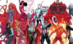 Marvel has announced a female Thor, a black Captain America and a 'Superior' Iron Man, and Axel Alonso talks in detail about the Avengers NOW! Marvel Avengers, Marvel Comics, Captain Marvel, Films Marvel, Marvel Now, Marvel Heroes, Marvel Characters, Avengers Team, Lady Thor