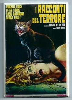 Tales of Terror FRIDGE MAGNET vintage italian movie poster vincent price