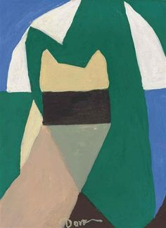 Untitled (Abstraction) by Arthur Dove, 1945, oil on canvas