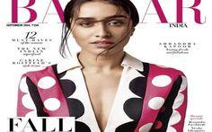 Shraddha Kapoor Harper Bazaar Magazine September 2014 Cover Shoot