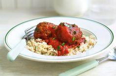 Gino D'Acampo's light spicy meatballs are from his brilliant cookbook The I Diet. Meatballs make a delicious family meal and you're sure to love this recipe Spicy Meatballs, Italian Meatballs, Meatloaf Recipes, Meatball Recipes, Gino D'acampo Recipes, Traditional Italian Dishes, Sauces, Italian Pasta Recipes, Sauce Tomate