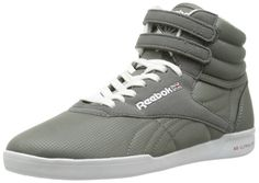 Amazon.com: Reebok Women's F/S Hi Ultralite Classic Sneaker,Medium Grey/White/Excellent Red,8 M US: Clothing