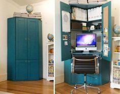 21 soluções para economizar um pouco de espaço em sua casa | O Buteco da Net