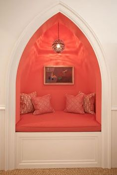 #coral #nook - I'm more in love with the design than the color. I'd rather see it in green.