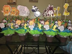 9 Best Diy Jungle Safari Theme Birthday Party Images Jungle