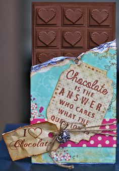 MY PAPER PASSION: Chocolate is the answer