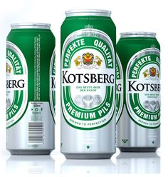 Packaging of the World: Creative Package Design Archive and Gallery: Kotsberg Beer