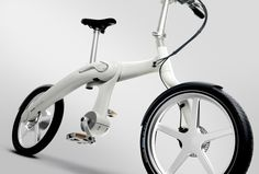 World's First Chainless Folding Electric Bike.  The Footloose by Mando.