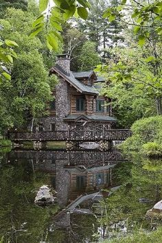 Lake House, Adirondack Mountains, New York by morgan