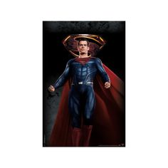 Justice League - Superman Poster ($9.99) ❤ liked on Polyvore featuring home, home decor, wall art, superman wall art, superman poster, movie wall art, justice league wall art and movie posters