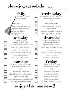 that's just crazy person talk: scheduled cleaning