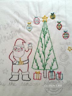 New Christmas Embroidery Pattern