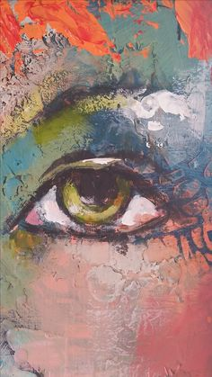 Paint wax and stencils.by Emma Petitt. Paint wax and stencils.by Emma Petitt. Eye Details, Encaustic Art, Face Art, Painting & Drawing, Painting Abstract, Watercolor Art, Modern Art, Art Drawings, Art Projects