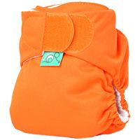 Tot Bots Minky Fabric Pocket Diaper- Tini Fit (Newborn)  This innovative diaper has a fold-out liner