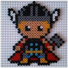 Thor en perles à repasser modèle pattern
