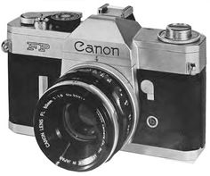 35Mm Camera | The Canon FP 35mm SLR camera was release in 1965. It is a popular ...