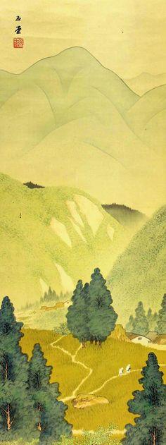 Kawai Gyokudo 川合玉堂 (1873-1957), via Marie-Pierre