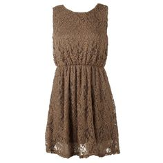 Lace Dress! Cute!! Pretty!!