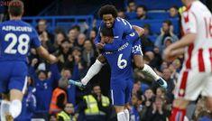 Campeonato Inglês | Com show de Willian, Chelsea goleia Stoke City por 5 a 0