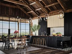 Mila Kunis Y Ashton, Mila Kunis Ashton Kutcher, Architectural Digest, Board Formed Concrete, Decoracion Vintage Chic, Devol Kitchens, Home Kitchens, That 70s Show, Cuisines Design