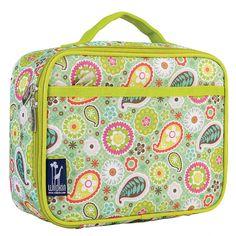Wildkin Spring Bloom Lunch Box Lunch Bags