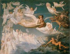 Louis Janmot, Le poème de l'âme: 2- Le Passage des Âmes, ca. 1835-55