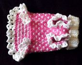 Tiny dog FASHION - pet clothing - small dog sweater - CLOTHES for mini dogs