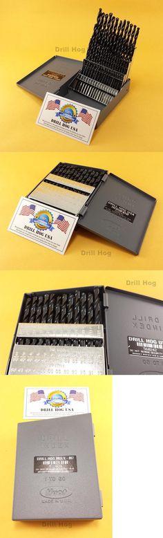 Drill bits 50382 drill hog usa 60 pc number drill bit set wire drill bits 50382 drill hog 60 pc number drill bit set wire gauge hi greentooth Gallery