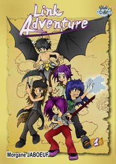 Link Adventure Cover 1 by YukiArtOfficiel