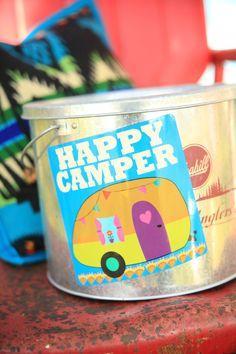 HAPPY CAMPER CAR MAGNET - Junk GYpSy co.