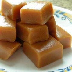 These Homemade Caramels will absolutely melt in your mouth! This treat is a huge hit at parties and we always keep it available during the holidays!