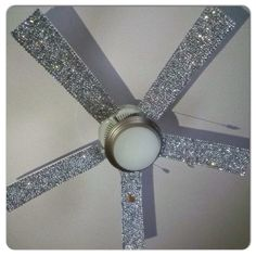 Omg I'm going to do this! Rhinestone fan