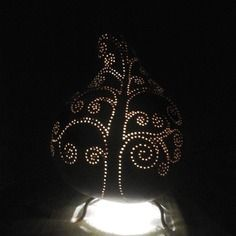 calebasse on pinterest gourd lamp gourds and boutiques. Black Bedroom Furniture Sets. Home Design Ideas