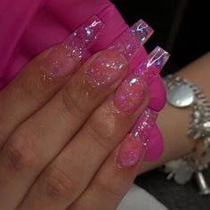 TAG Showyourclawssss for repost? – Long Nail Designs - Water TAG Showyourclawssss for repost? Long Nail Designs, Acrylic Nail Designs, Nail Swag, Acylic Nails, Jelly Nails, Pink Acrylic Nails, Fire Nails, Nagel Gel, Dream Nails