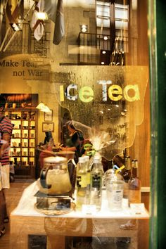 Tea Shop in Barcelona, Spain