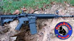 Shooting the Ruger AR-556 Gas-Impingement 5.56mm Semi-Automatic Rifle - ...Loading that magazine is a pain! Get your Magazine speedloader today! http://www.amazon.com/shops/raeind