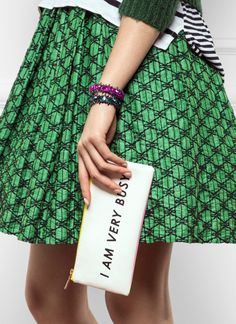 Be you - mixing prints, bossy attitude, and all!