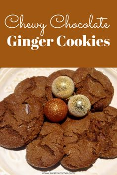 """These holiday cookies, although not """"healthy"""" overall (c'mon, it's Christmas!), contain a lot of ginger, which on its own may possess many health benefits!"""