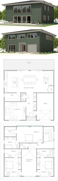 39 House Designs 2 Ideas House House Plans House Floor Plans