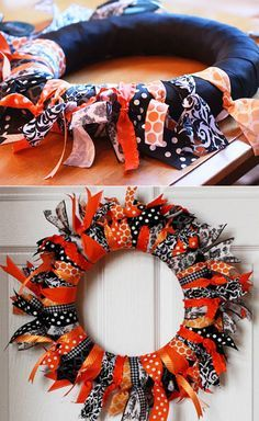 Unique Autumn Wreaths For Beautiful Front Door Decor