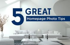 A great impression starts on your real estate website homepage. Use this 5 expert tips for getting the best real estate photography for your website. http://plcstr.com/1ry4AEs