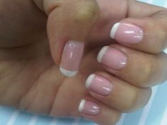 short french tip -- my favorite summertime accessory!