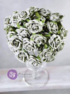 Eleganckie Róże Pistacjowe Prima 6 szt. przydasiepasjonaty