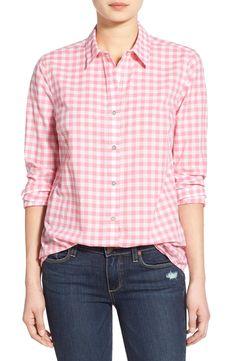 Vineyard Vines Gingham Button Front Shirt