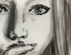 """Check out new work on my @Behance portfolio: """"Watercolor Face Study"""" http://be.net/gallery/58520385/Watercolor-Face-Study #watercolor #portrait"""