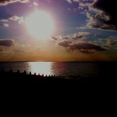 And the most beautiful of sunsets ... #Whitstable