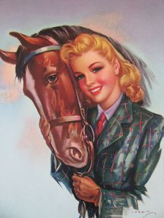 Country Girl Pin-Up