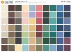 TCI Soft Autumn corporate palette